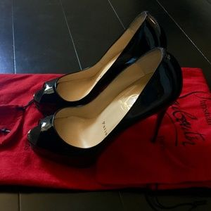 Authentic Christian Louboutin New Very Prive 120mm